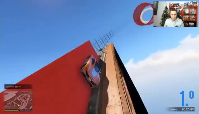 Watch and share GTA 5 | LA ESPIRAL MAS LARGA Y FINA QUE HE VISTO - GTA V CARRERA DE LA MUERTE #942 | XxStratusxX GIFs on Gfycat