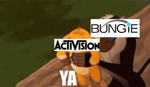 destiny , destiny2, destinythegame, Due to recent news regarding Bungie and Activision... GIFs