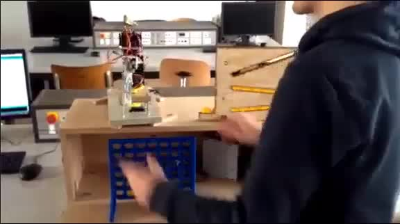 Watch and share Robot Playing Connect4 (reddit) GIFs on Gfycat