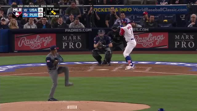 Watch and share P.R. Scores Four In 1st GIFs by Baseball America on Gfycat