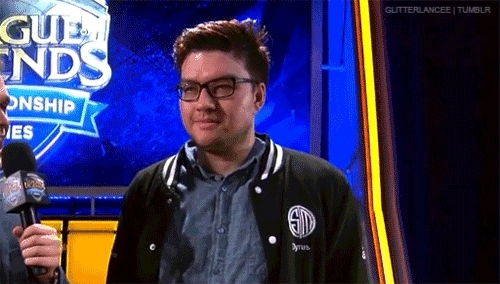 baelife, dyrus, gif, gifs, kobe, league of legends, mine, nalcs, pro players, riot, riot games, team solomid, teamsolomid, tsm, tsm dyrus, When dyrus surprises everyoneJK he had it all along ;D GIFs