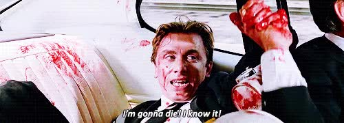 Watch and share Reservoir Dogs Movie Gif Movie Quotes Quentin Tarantino Tim Roth Dec 07, 2015 GIFs on Gfycat