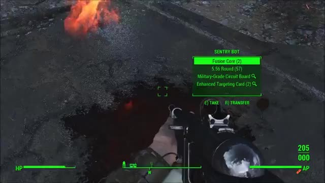 Watch and share Nick Valentine Fat Man - Fallout 4 GIFs on Gfycat
