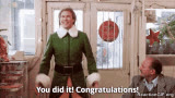 accomplishment, celebrate, congrats, congratulations, good job, great job, party, way to go, yay, Congratulations GIFs