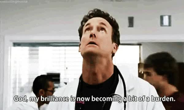 Watch and share Scrubs, Not Amused, Dr Cox GIFs on Gfycat