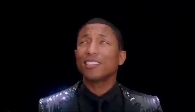 Watch and share Pharrell Williams GIFs on Gfycat