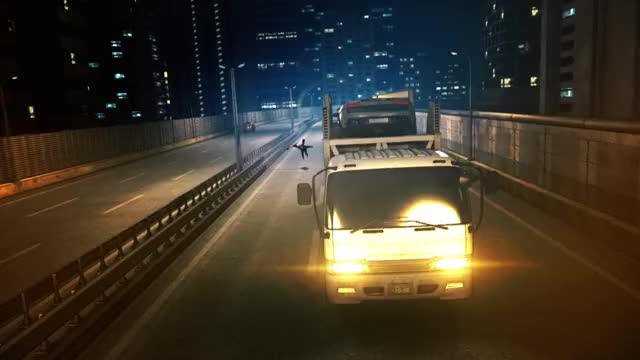 Watch and share Lancer Chases Truck 2 GIFs by CT123 on Gfycat