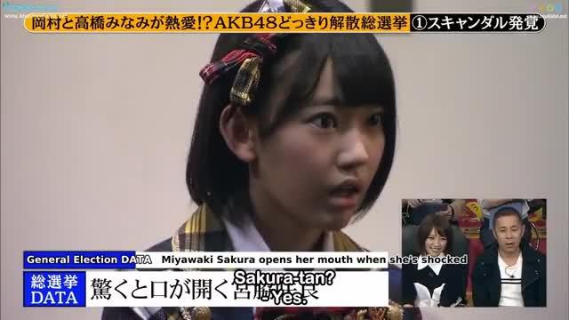 ENG SUB [AKB48/Produce48] - Miyawaki Sakura and Shiroma Miru got