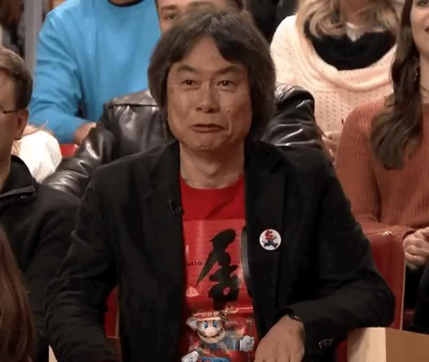 Watch approved GIF on Gfycat. Discover more shigeru miyamoto GIFs on Gfycat