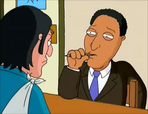 Watch and share Family Guy - Gumble To Gumble - Interview GIFs on Gfycat