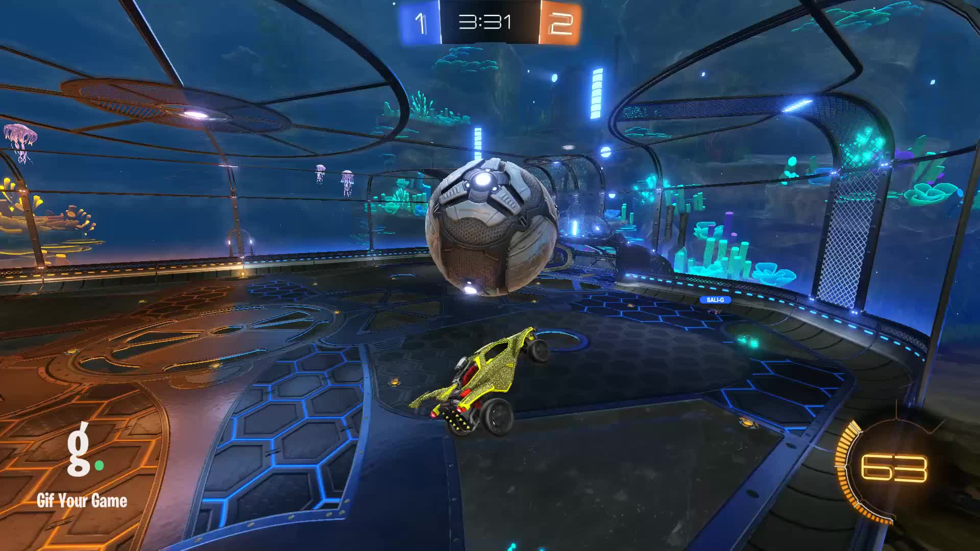 Gif Your Game, GifYourGame, Goal, Rocket League, RocketLeague, t., Goal 4: t. GIFs