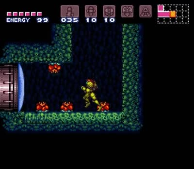 Watch and share Super Metroid Wall Jump GIFs on Gfycat
