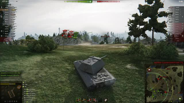 Watch and share WoT - Dirty E100 HE Snipe GIFs by bouchedag on Gfycat