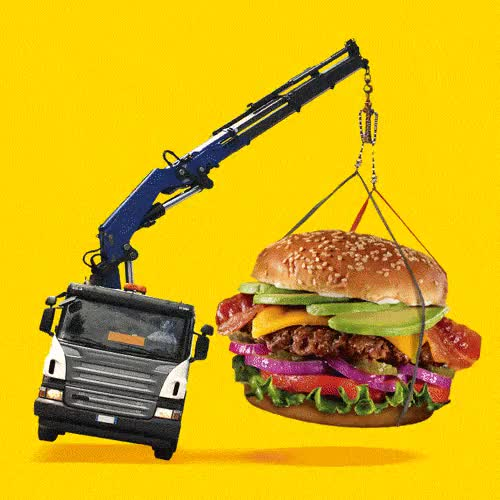 Watch and share Big Burgers That Is GIFs and Do You Even Lift GIFs on Gfycat