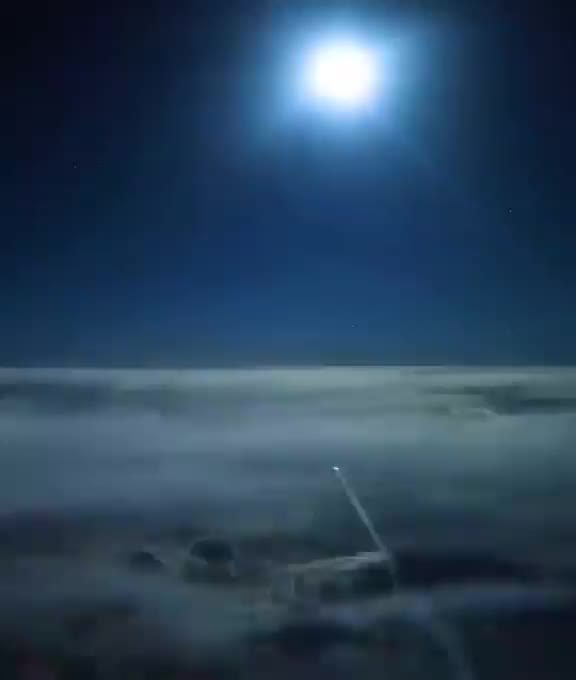 Watch and share Cockpit View Of A Plane Flying Over The Arabian Peninsula GIFs by tothetenthpower on Gfycat