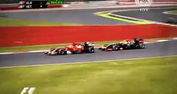 Watch and share Sebastian Vettel GIFs and Fernando Alonso GIFs on Gfycat