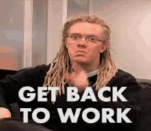 Watch and share Back To Work GIFs on Gfycat