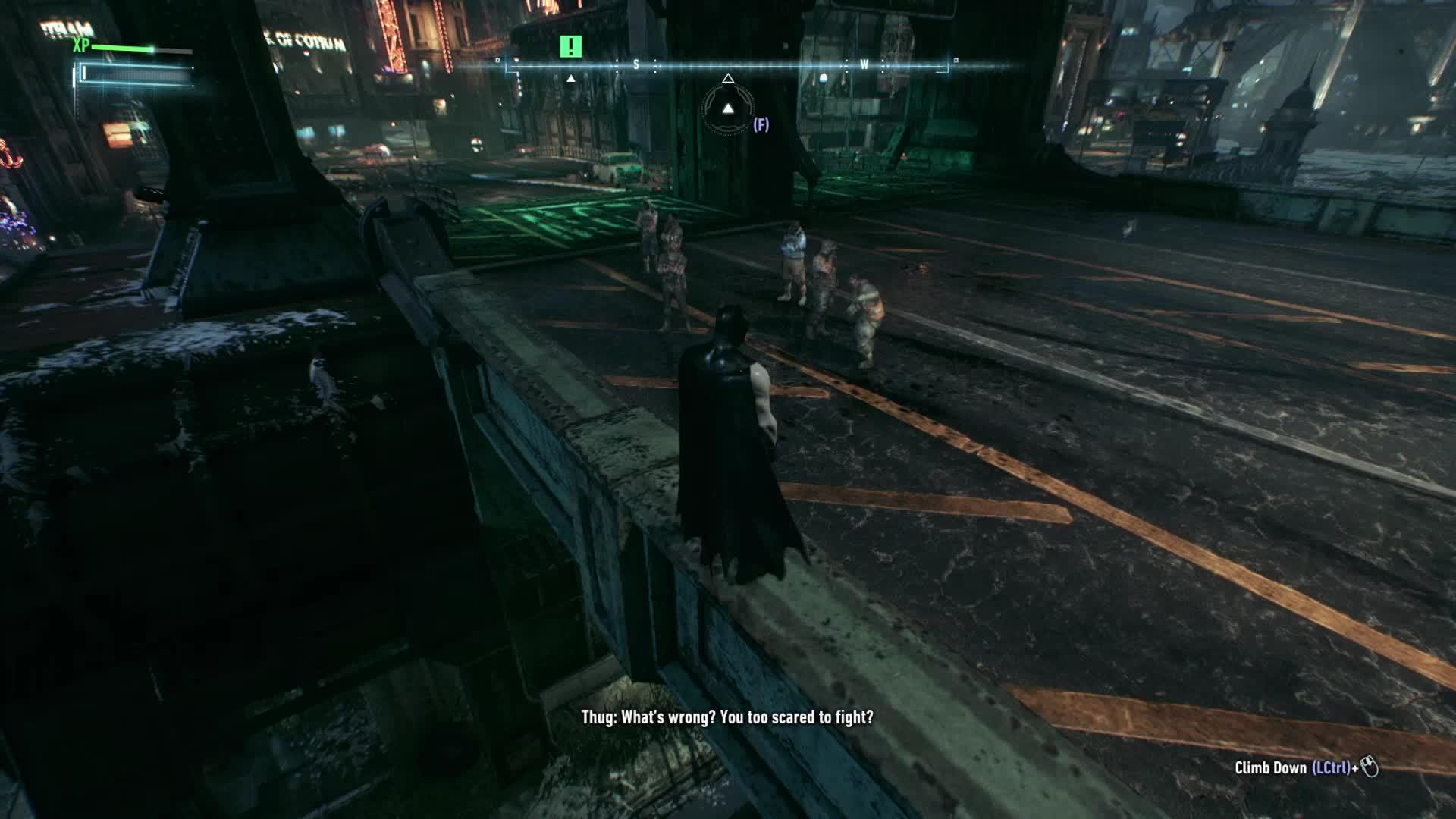 batman, batmanarkham, ManGetsHitInTheNuts GIFs