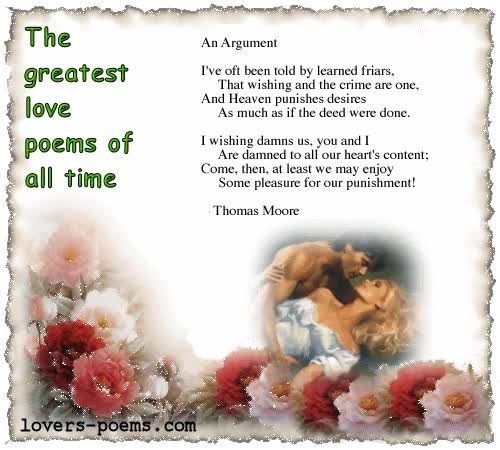 Watch and share Best Love Poems Moore Argument animated stickers on Gfycat