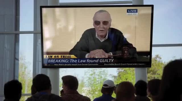Watch and share Stan Lee Makes A Guest Apperance In Season 2 Episode 1 GIFs on Gfycat