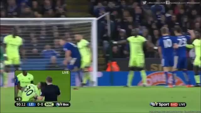 Watch and share Otamendi Dive Vs Leicester GIFs on Gfycat