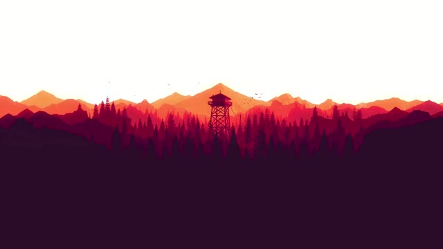 Watch and share Wallpaper Engine - Firewatch, Creator Teebird117 GIFs on Gfycat