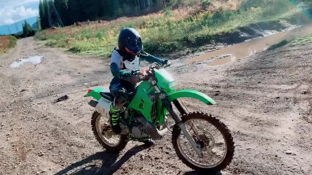 Watch and share That 2-stroke Sound 😍  #kdx200 GIFs by prettygirls on Gfycat