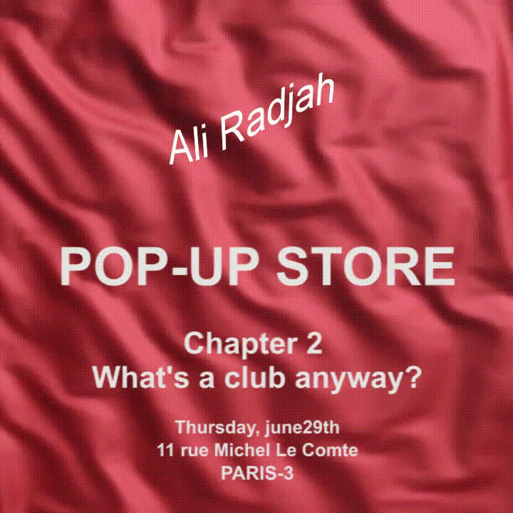 streetwear, Aliradjah pop-up store GIFs
