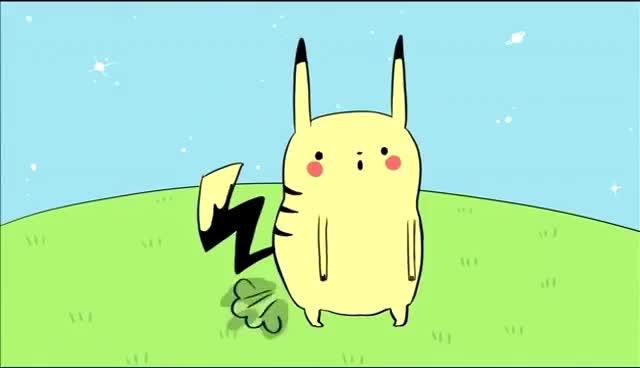 Watch and share Pikachu Fart GIFs on Gfycat
