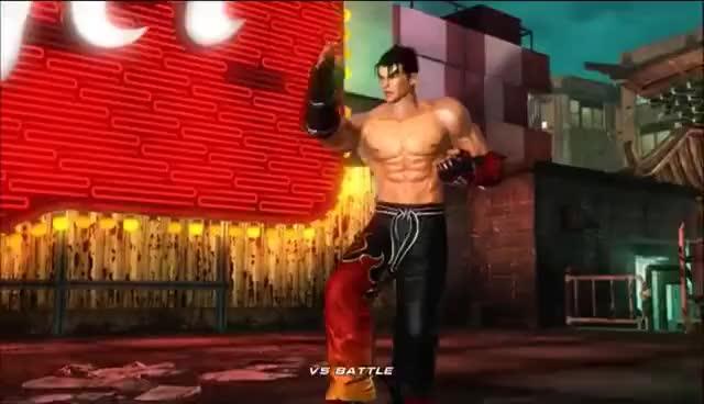 Tekken 6 Jin Kazama Intro Win Poses Gif Gfycat