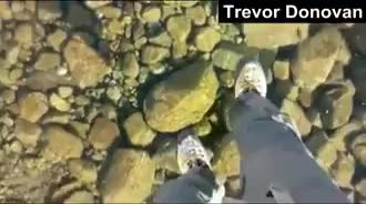 Watch Walking on water GIF by iamsumitd on Gfycat. Discover more cool, interesting GIFs on Gfycat