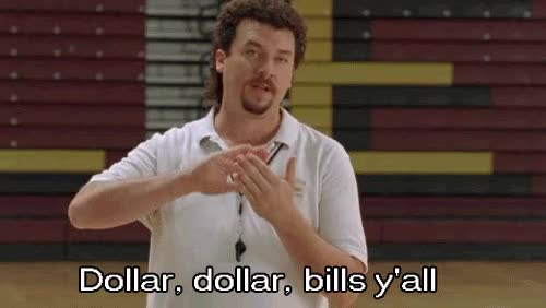 Watch and share Dollar Dollar Bills GIFs on Gfycat