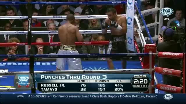 Gary Russel Jr vs Miguel Tamayo in HD