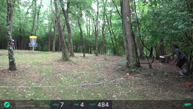 "Watch 2017 Idlewild Open - Barsby ""slomez"" - Round 1, hole 7 GIF by Ultiworld Disc Golf (@ultiworlddg) on Gfycat. Discover more related GIFs on Gfycat"