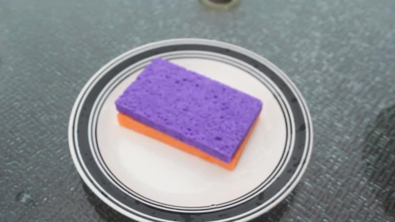 diy, Sulfuric Acid and Sponge Reaction - Chemistry experiment GIFs