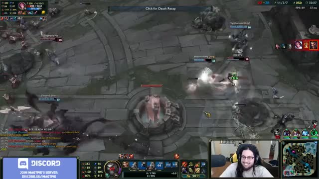 Imaqtpie - RIOT CO-FOUNDER PLAYS WITH ME
