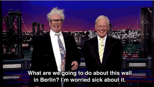 Watch and share David Letterman GIFs on Gfycat