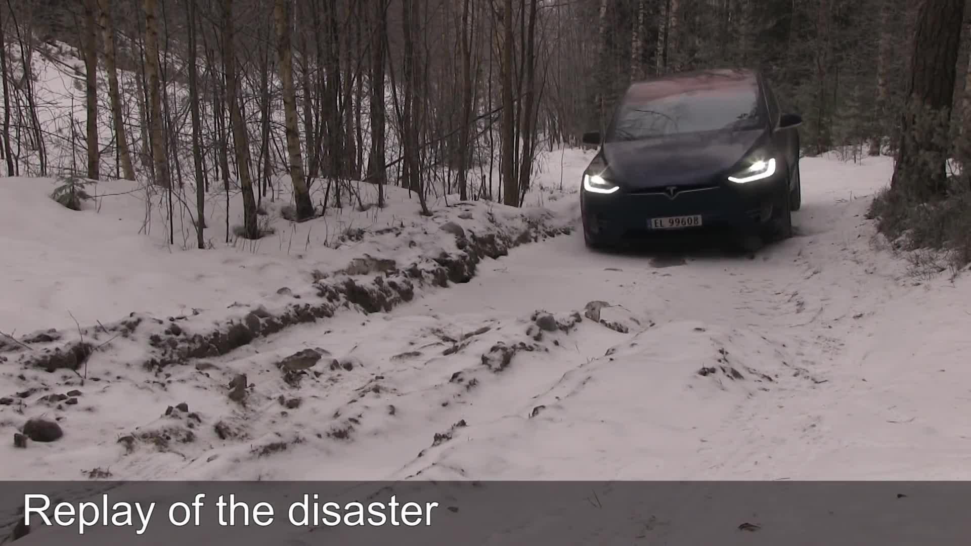 Model X, NAF, Tesla, Vålerbanen, off-roading, winter, Tesla Model X winter off-roading! GIFs