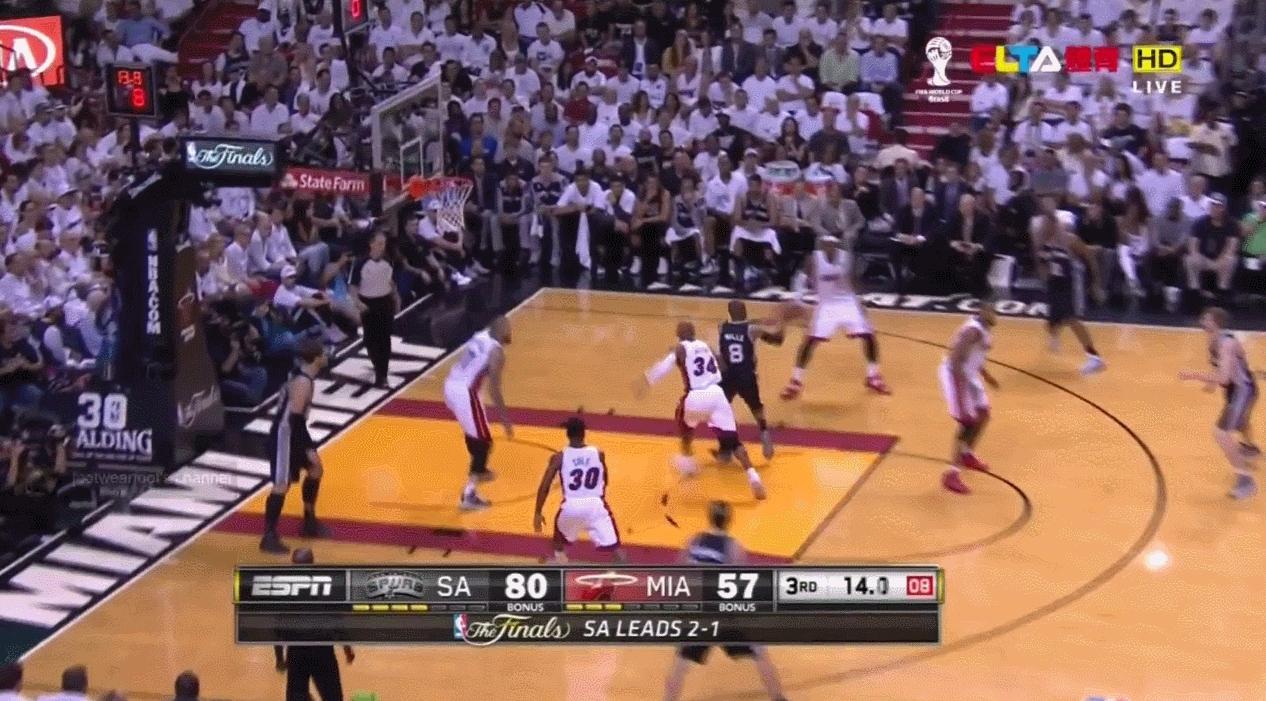 NBASpurs, nba, Kawhi Leonard defense on Dwyane Wade (reddit) GIFs