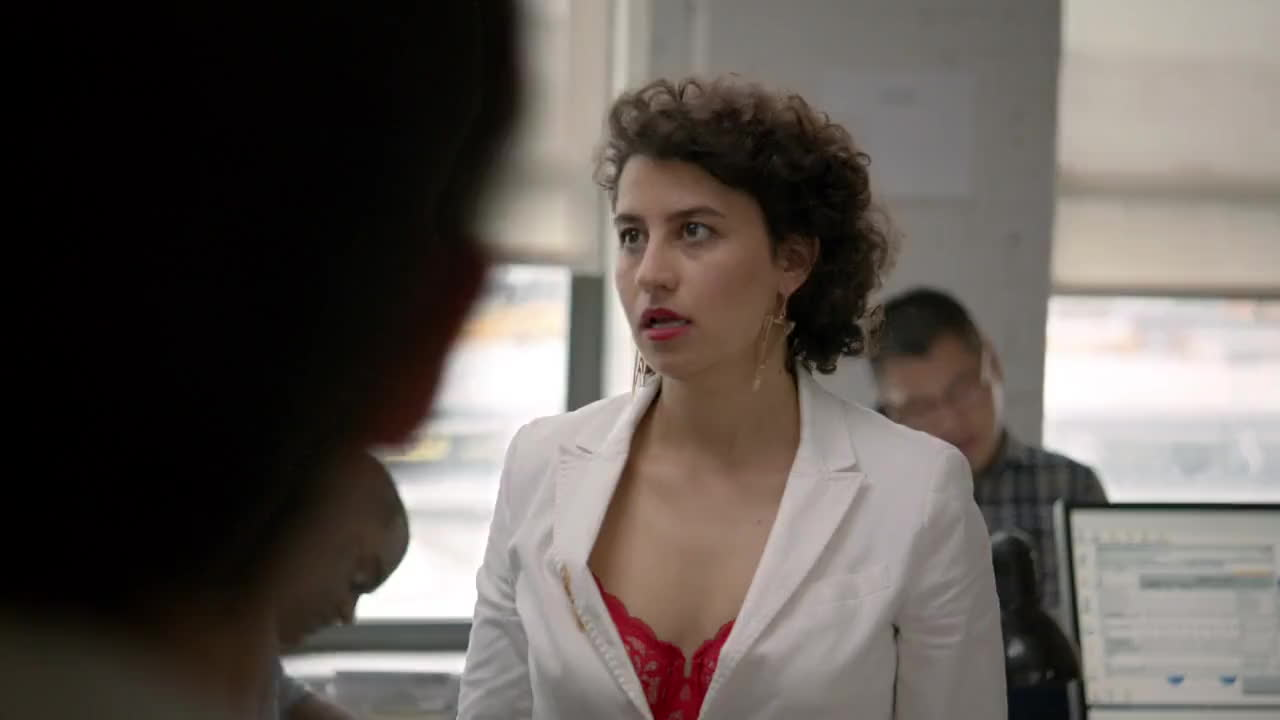 annoyed, bored, broad city, eye roll, ilana glazer, over it, Ilana Eye Roll GIFs