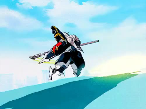 Watch and share Deathscythe GIFs and Gundam Wing GIFs on Gfycat
