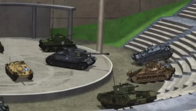 Watch and share Girls Und Panzer GIFs by _drwat on Gfycat