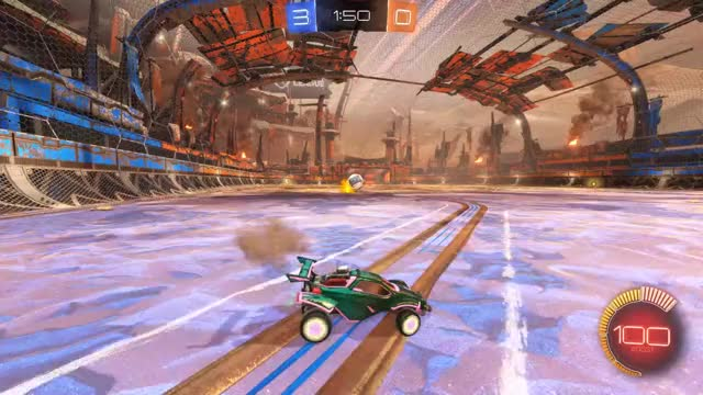 Watch Shot 7: 9gag GIF by Gif Your Game (@gifyourgame) on Gfycat. Discover more Gif Your Game, GifYourGame, Rocket League, RocketLeague, token GIFs on Gfycat