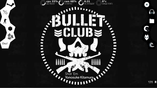 Watch and share Bulletclub GIFs and Rainmeter GIFs on Gfycat