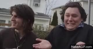 Watch and share The Front Bottoms GIFs and Brian Uychich GIFs on Gfycat