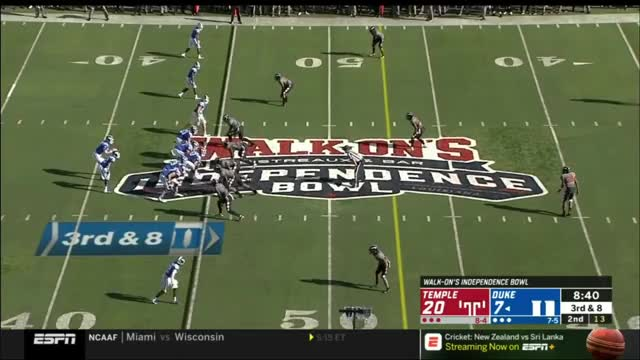 Watch Daniel Jones (Duke QB) vs. Temple (2018) GIF on Gfycat. Discover more Caddy to the Lama, Film & Animation, Wondershare Filmora, madden GIFs on Gfycat