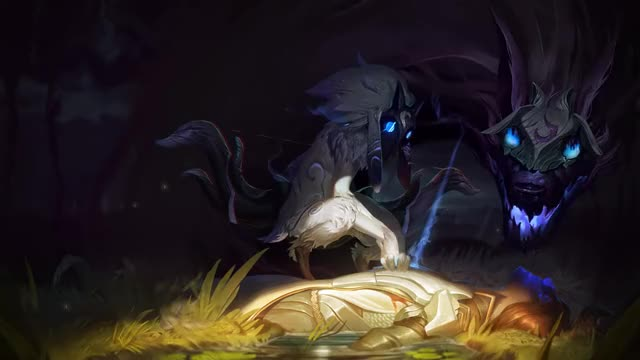 Watch and share League Of Legends GIFs and The Kindred GIFs by peridotix on Gfycat