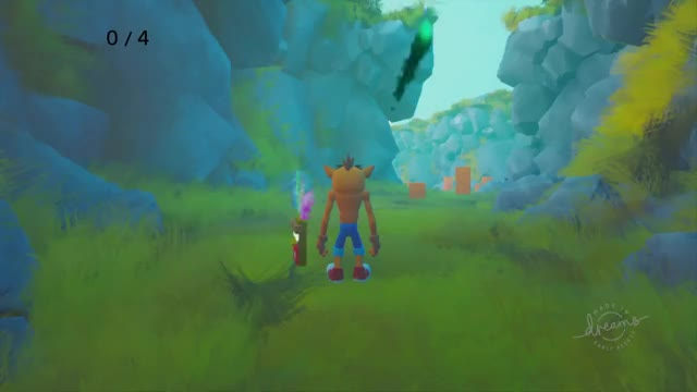 Watch and share Crash Bandicoot Recreated In Dreams GIFs on Gfycat