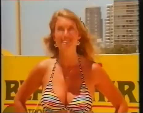 Watch and share Anneka Rice In A Bikini GIFs on Gfycat