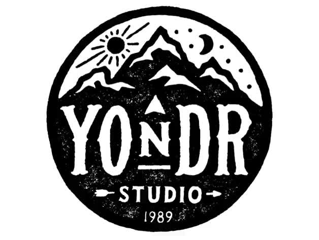 Watch and share Yondr Dribbble White Animated Logos GIFs on Gfycat